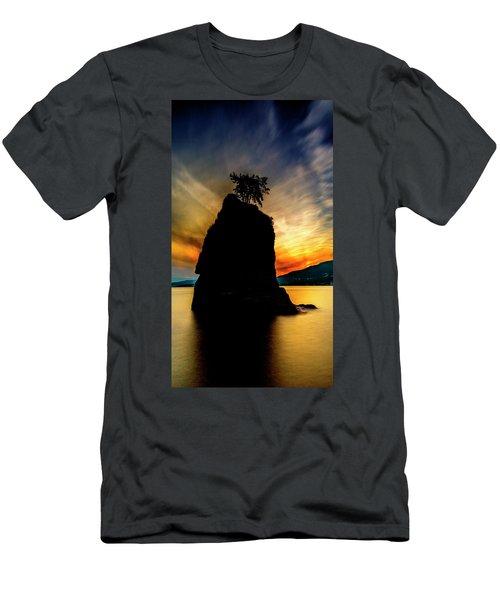Siwash Sunset Men's T-Shirt (Athletic Fit)