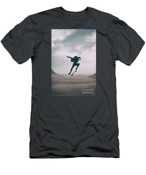 Skater Boy 004 Men's T-Shirt (Athletic Fit)