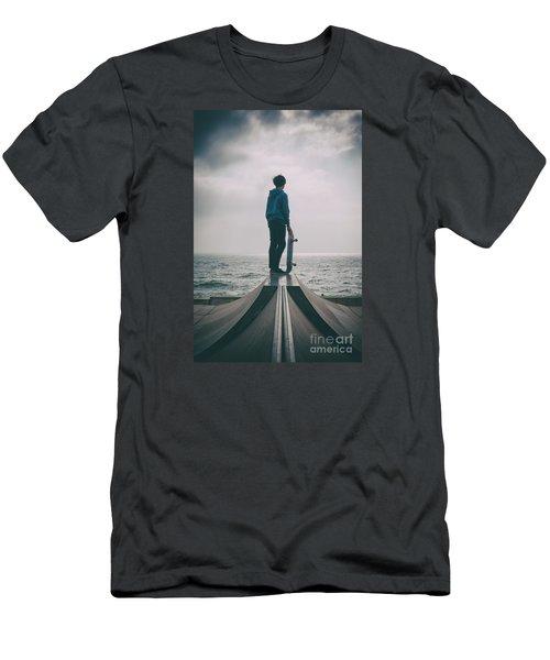 Skater Boy 005 Men's T-Shirt (Athletic Fit)