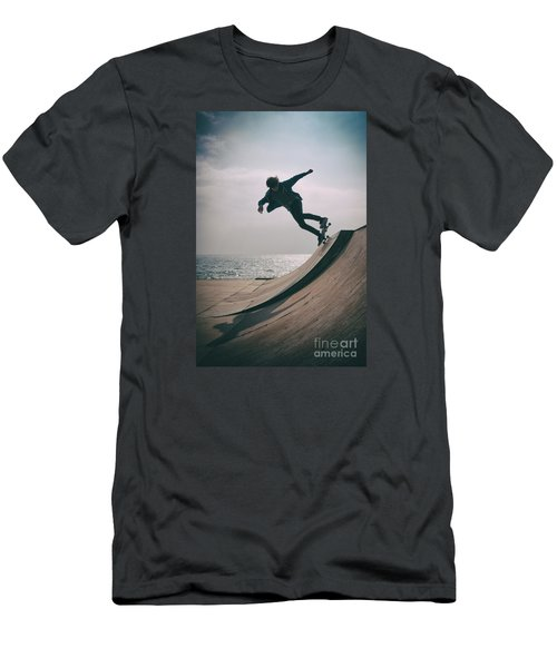Skater Boy 007 Men's T-Shirt (Athletic Fit)