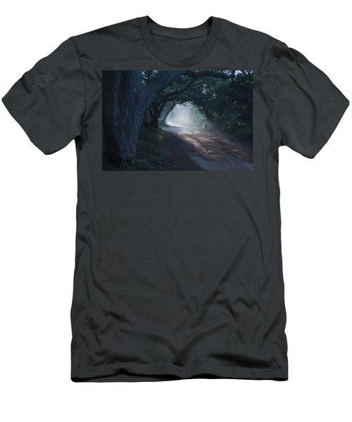 Skc 4671 Road Towards Light Men's T-Shirt (Athletic Fit)