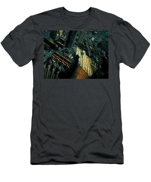 Skewed View Men's T-Shirt (Athletic Fit)