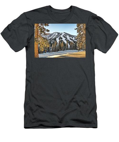 Ski Runs Men's T-Shirt (Athletic Fit)