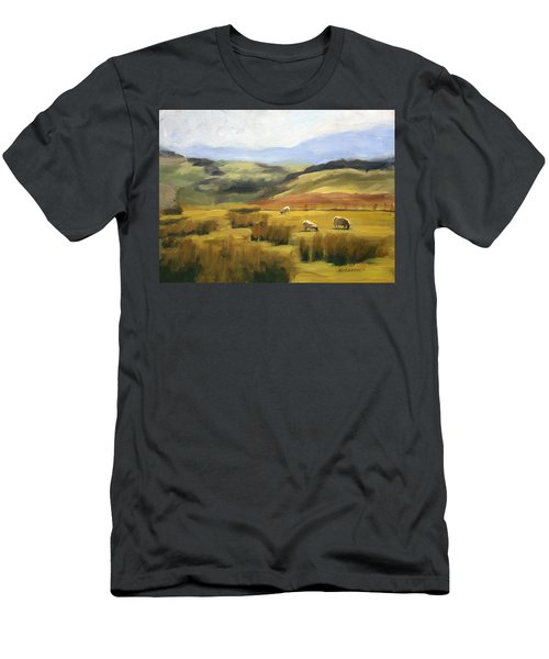 Skiddaw Massif  Men's T-Shirt (Athletic Fit)
