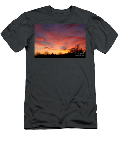Skies Has No Limits Men's T-Shirt (Athletic Fit)