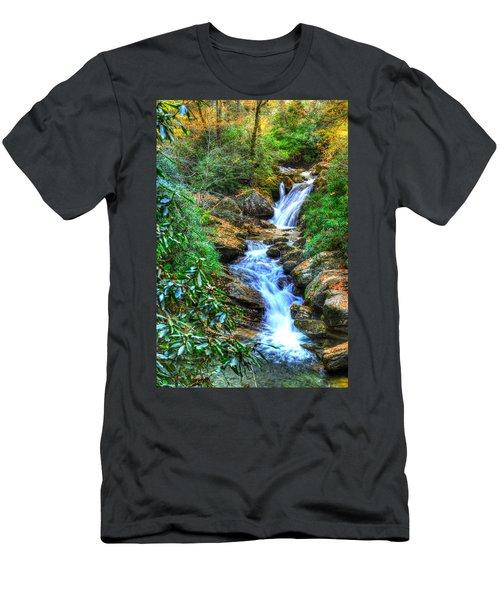 Skinny Dip Falls Men's T-Shirt (Athletic Fit)