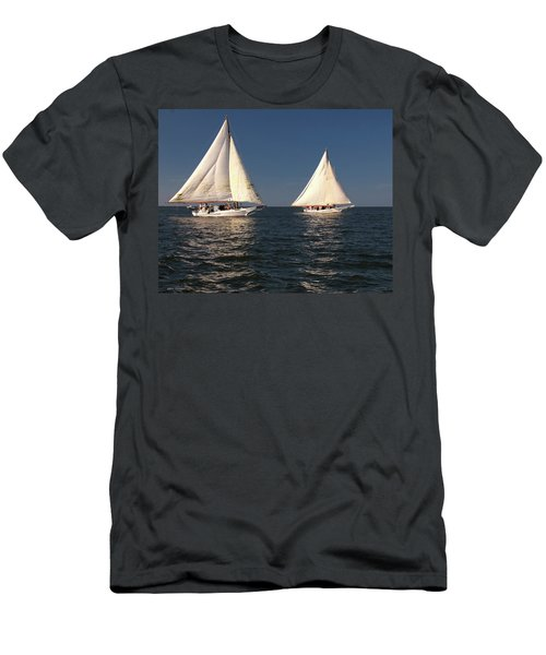 Skipjack Races 4 Men's T-Shirt (Athletic Fit)