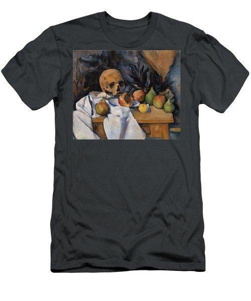 Still Life With Skull Men's T-Shirt (Athletic Fit)