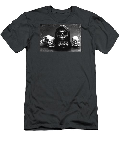 Skulls Men's T-Shirt (Slim Fit) by Martina Fagan