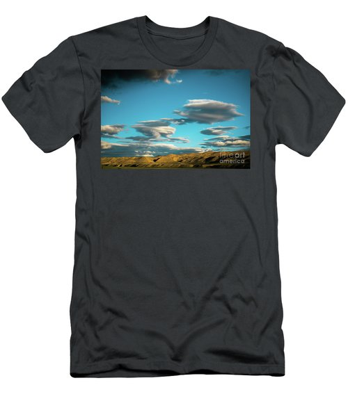 Sky And Clouds Garuda Valley Tibet Yantra.lv Men's T-Shirt (Athletic Fit)