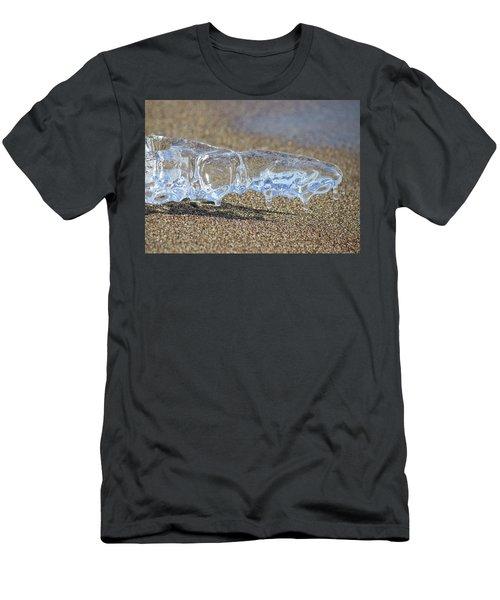 Sky Blue Men's T-Shirt (Athletic Fit)