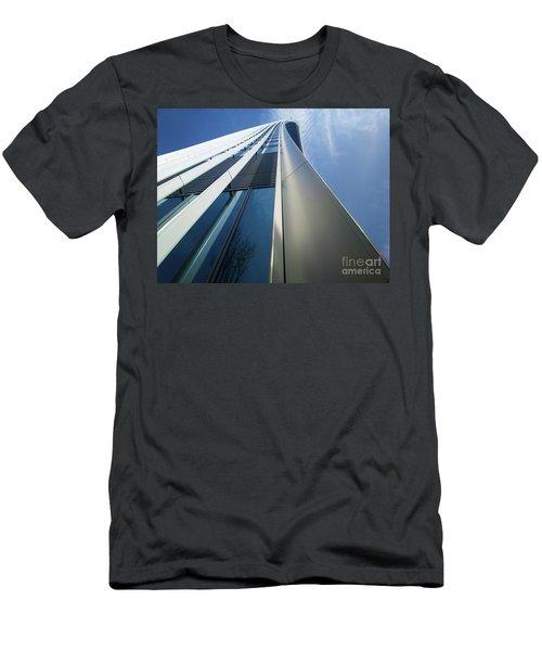Men's T-Shirt (Slim Fit) featuring the photograph Sky Garden - London by Hanza Turgul