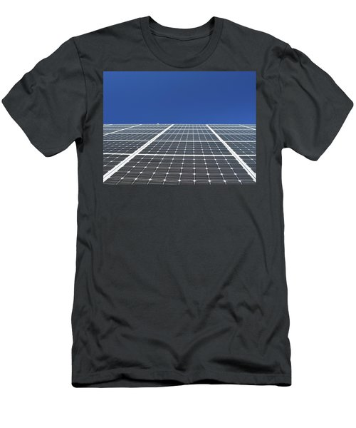 Sky Grid  Men's T-Shirt (Athletic Fit)