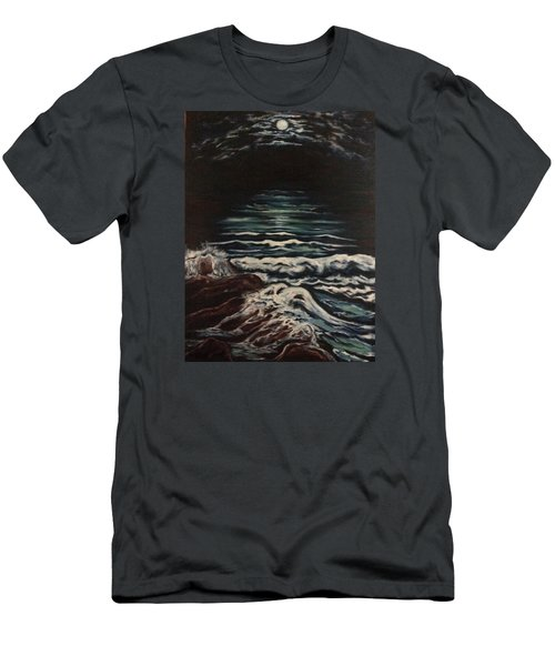 Sky Lights Men's T-Shirt (Slim Fit) by Cheryl Pettigrew