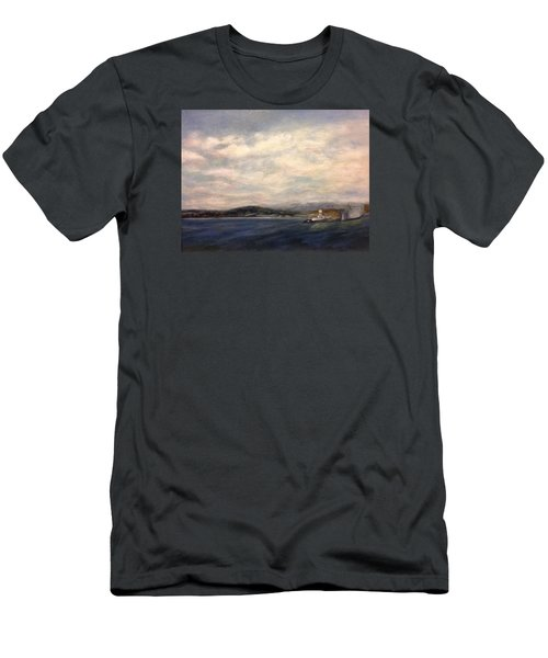 The Port Of Everett From Howarth Park Men's T-Shirt (Athletic Fit)