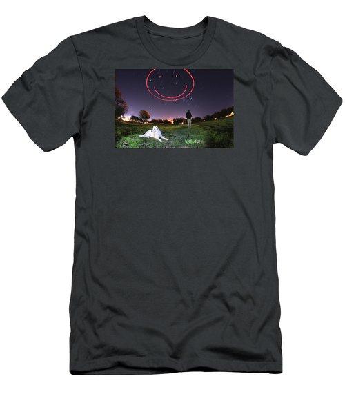 Sky Smile Men's T-Shirt (Athletic Fit)