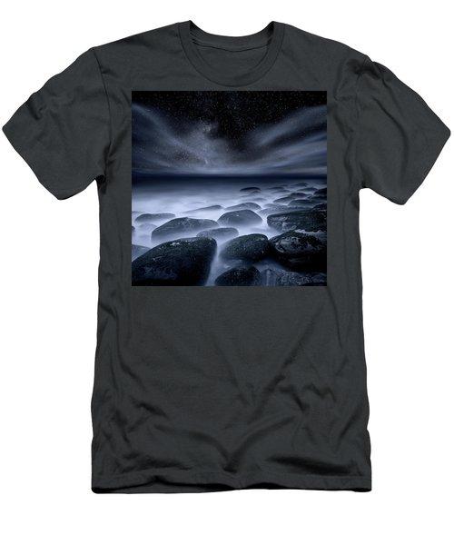 Sky Spirits Men's T-Shirt (Slim Fit) by Jorge Maia