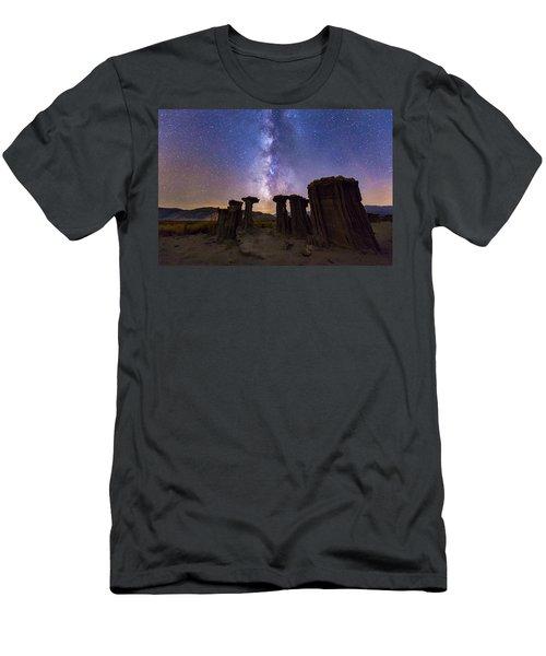 Sky Watchers Men's T-Shirt (Athletic Fit)