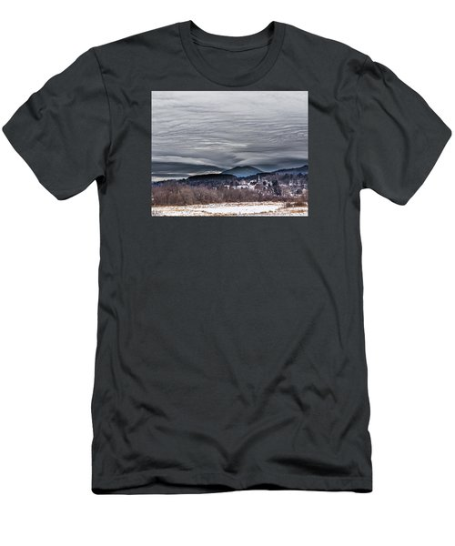 Sky Waves Men's T-Shirt (Slim Fit) by Tim Kirchoff