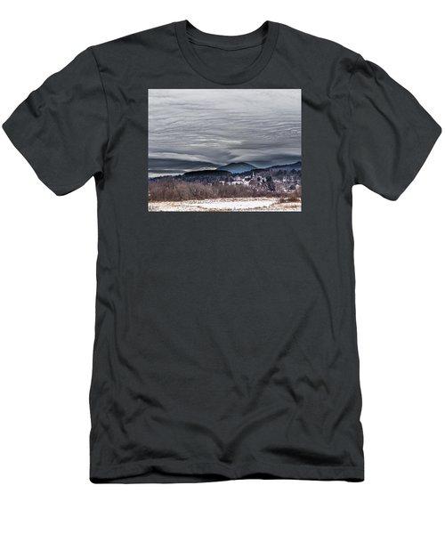 Sky Waves Men's T-Shirt (Athletic Fit)
