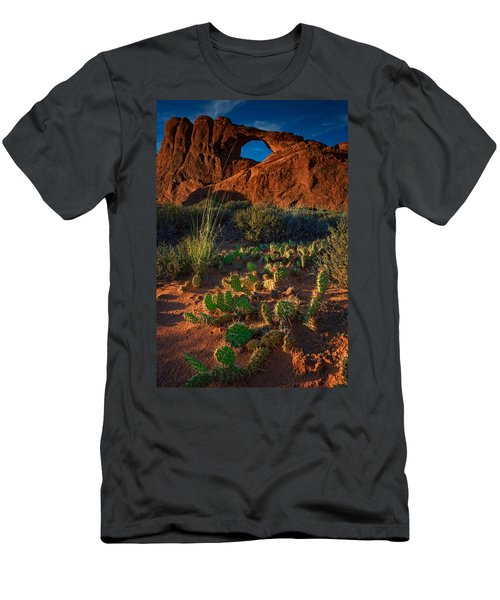Skyline Arch Men's T-Shirt (Athletic Fit)