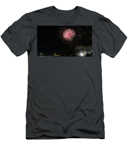 Men's T-Shirt (Athletic Fit) featuring the photograph skys of Georgia by Aaron Martens