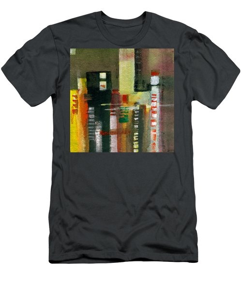 Skyscrapers Men's T-Shirt (Athletic Fit)