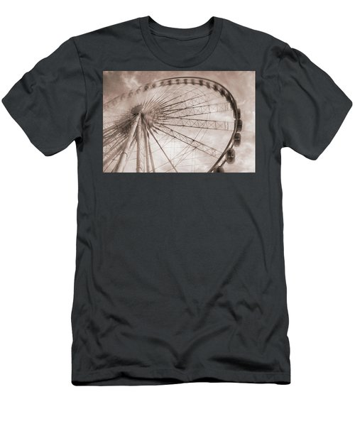 Skywheel In Niagara Falls Men's T-Shirt (Athletic Fit)