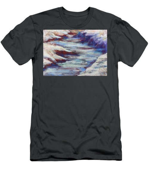 Slate River Melt Men's T-Shirt (Athletic Fit)