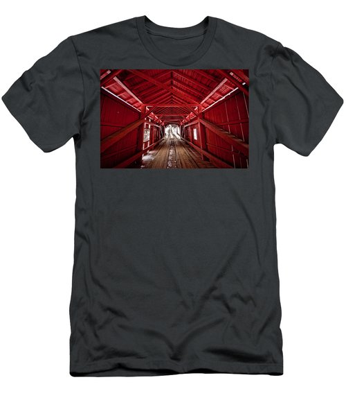 Slaughterhouse Red Men's T-Shirt (Athletic Fit)