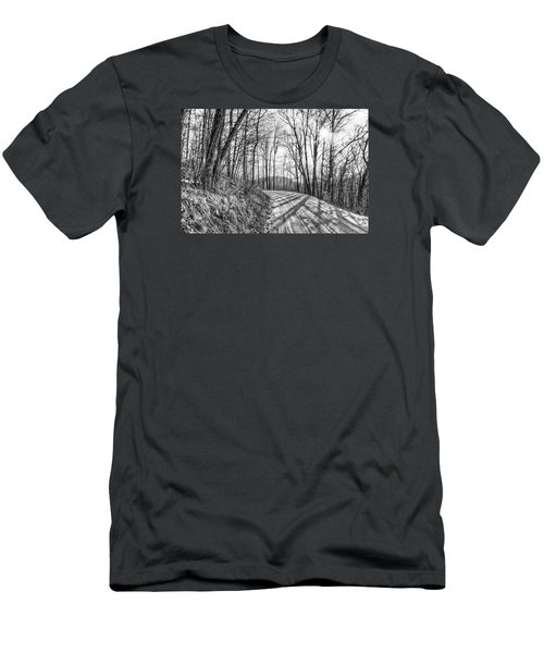 Men's T-Shirt (Slim Fit) featuring the photograph Sleep Hallow Road by Dan Traun