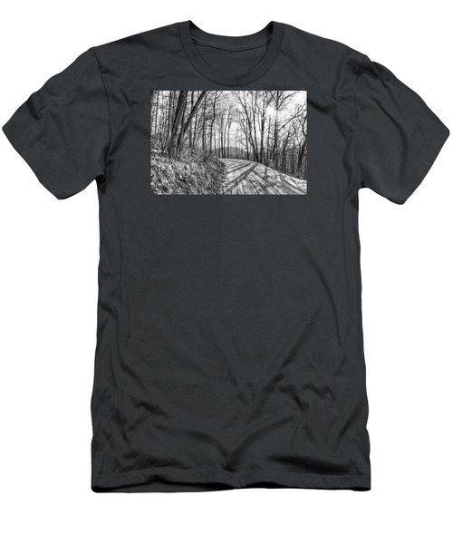 Sleep Hallow Road Men's T-Shirt (Slim Fit) by Dan Traun