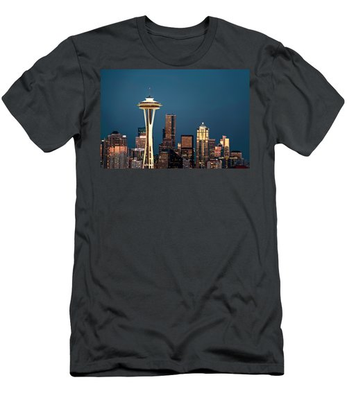 Men's T-Shirt (Slim Fit) featuring the photograph Sleepless In Seattle by Eduard Moldoveanu