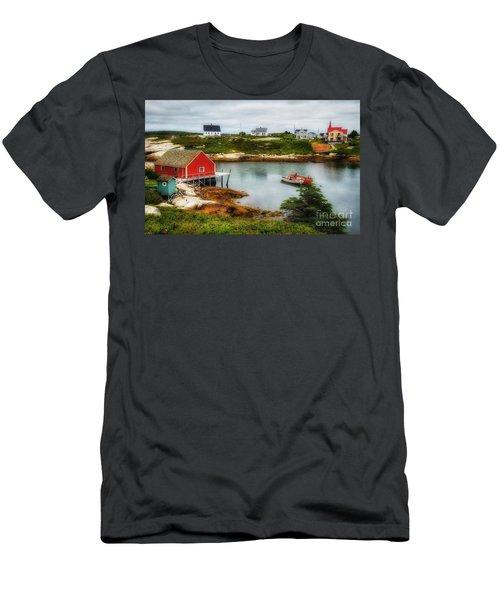 Sleepy Seascape Men's T-Shirt (Athletic Fit)
