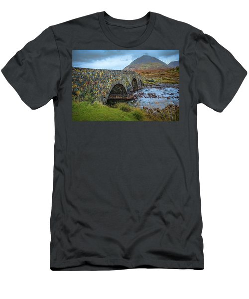 Sligachan Bridge View #h4 Men's T-Shirt (Athletic Fit)