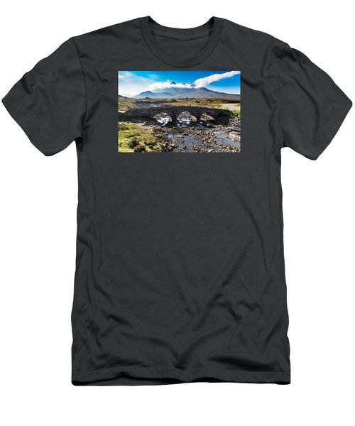 Men's T-Shirt (Slim Fit) featuring the photograph Skye Cuillin From Sligachan by Gary Eason