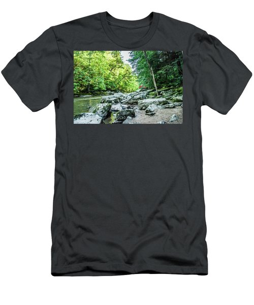 Slippery Rock Gorge - 1905 Men's T-Shirt (Athletic Fit)