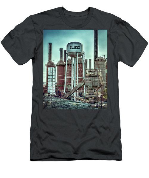 Sloss Furnaces Tower 3 Men's T-Shirt (Athletic Fit)