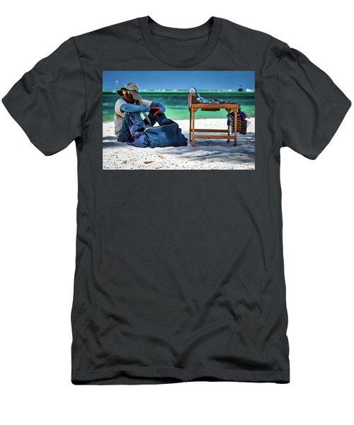 Slow Sales Day Men's T-Shirt (Athletic Fit)