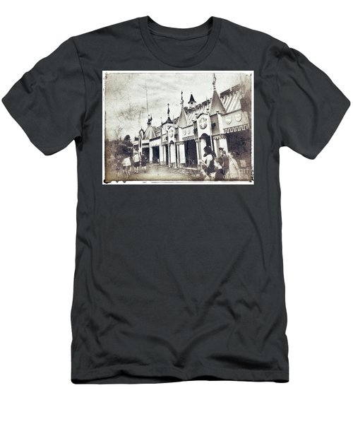Small World Men's T-Shirt (Slim Fit) by Jason Nicholas