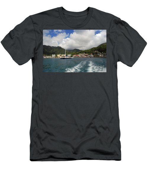 Smalll Village Men's T-Shirt (Athletic Fit)