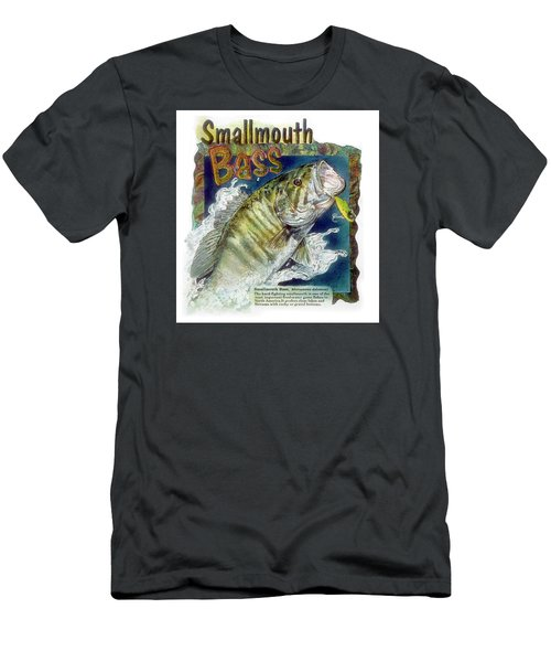 Smallmouth Bass Men's T-Shirt (Athletic Fit)