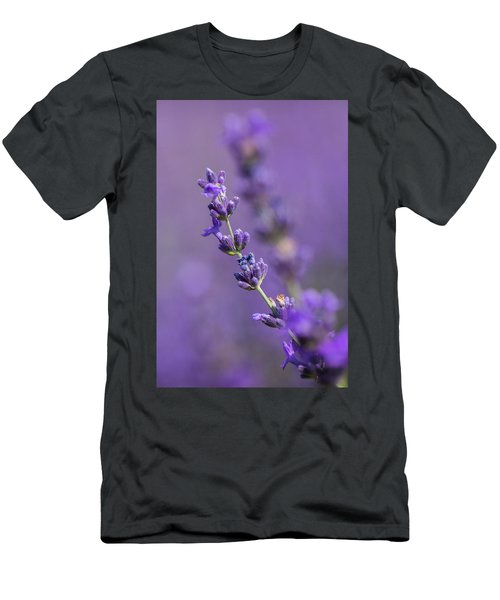 Smell The Lavender Men's T-Shirt (Athletic Fit)