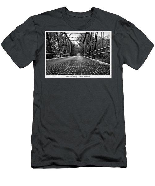 Smith Road Bridge  Men's T-Shirt (Athletic Fit)