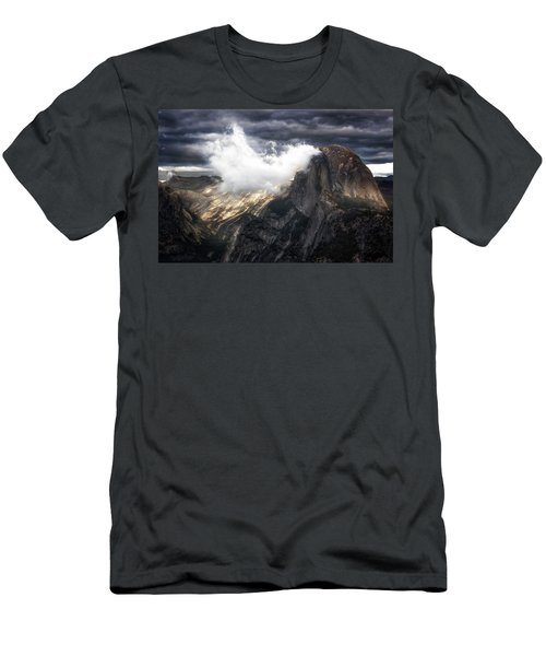 Smoked Men's T-Shirt (Athletic Fit)