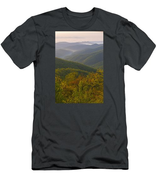Smokey Mountains Men's T-Shirt (Athletic Fit)