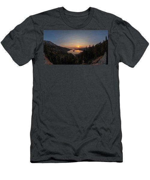 Smokey Sunrise At Emerald Bay Men's T-Shirt (Athletic Fit)