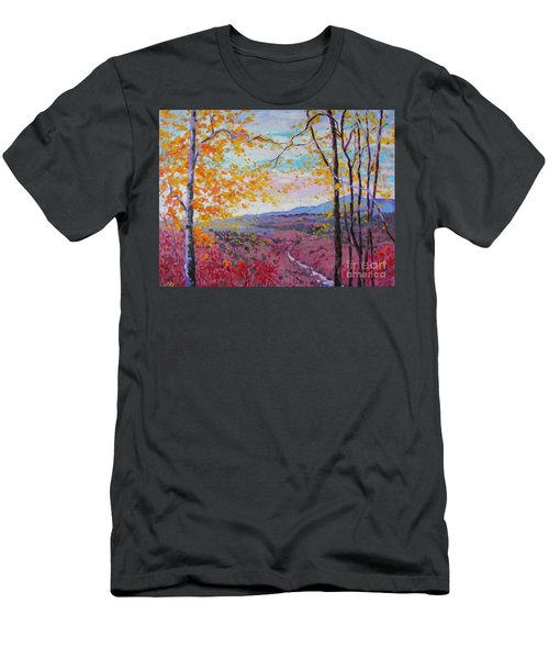 Smokey View Morning Men's T-Shirt (Athletic Fit)