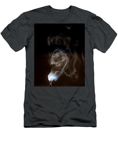 Smokey Wisps  Men's T-Shirt (Athletic Fit)