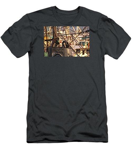 Smokin' Men's T-Shirt (Slim Fit) by Cameron Wood